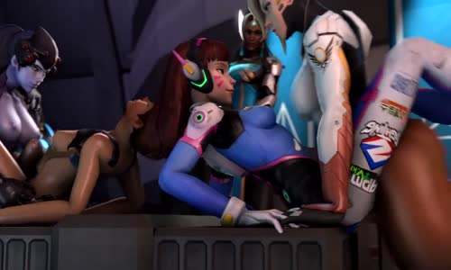 Mercy and dva in overwatch have sex