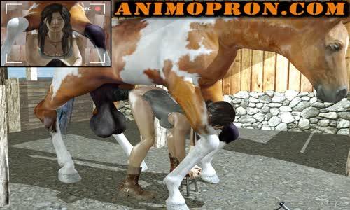 tomb raider horse porn